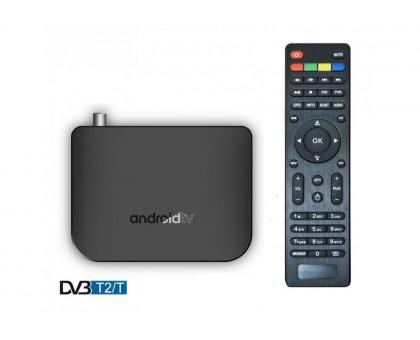 Приставка Смарт ТВ - INVIN M8S- DVB T2 (Android TV Box)