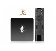 Смарт ТВ приставка INVIN W6 2G/16Gb (Android TV Box)+пульт со встроенным микрофоном