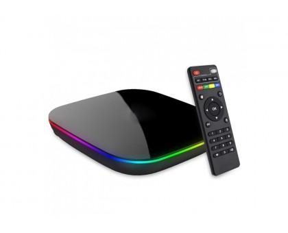 Приставка Смарт ТВ - INVIN X4 4Gb/32Gb (Android TV Box)